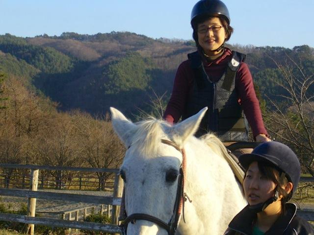 遠野は馬の里でした。こんな環境でゆったり暮らせるお馬さんは幸せ!!